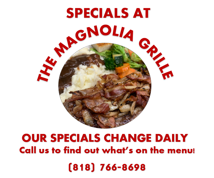Specials at The Magnolia Grille